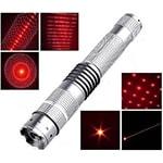 Лазерная указка красная 1000 mW + 4 насадки Power