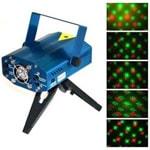 Лазерный проектор двухцветный (красный + зеленый) Laser Stage Lighting 02