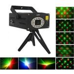 Лазерный проектор трехцветный (красный + зеленый + жёлтый) Super Laser